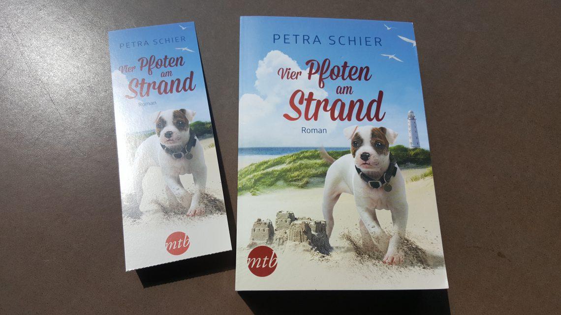 Rezension zu Vier Pfoten am Strand: Liebesroman